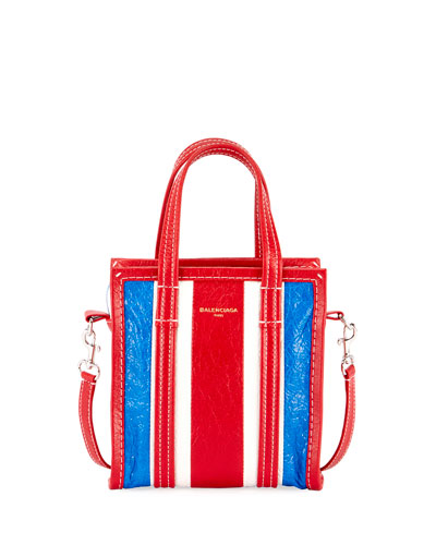 XXS Bazar Striped Shopper Tote Bag