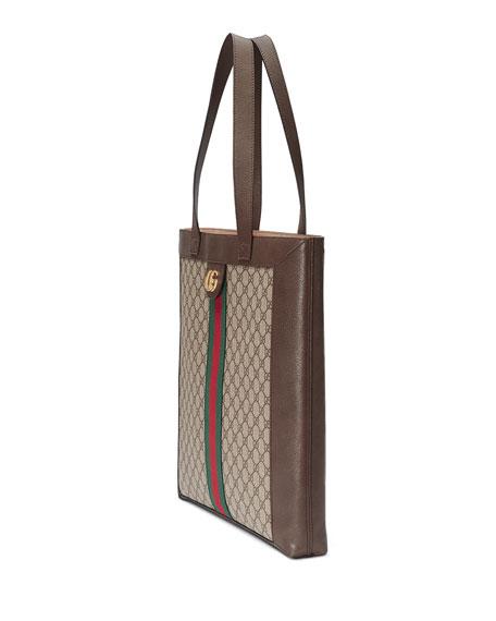 a74943bf5f8b Gucci Ophidia GG Supreme Jacquard Striped Tote Bag