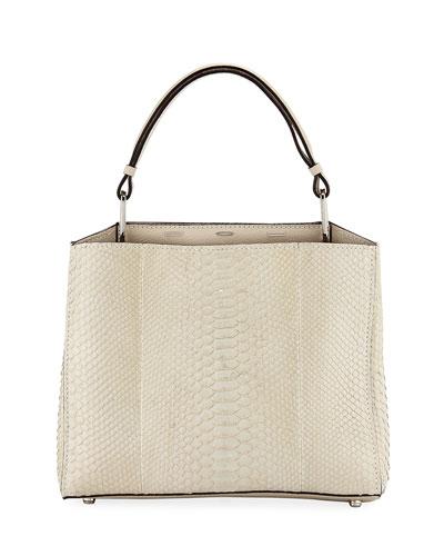 Seven 30 Buffed Top Handle Bag, Beige