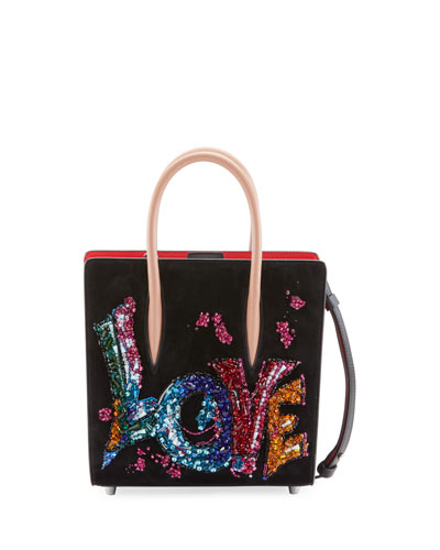 Paloma Small Embroidered Tote Bag