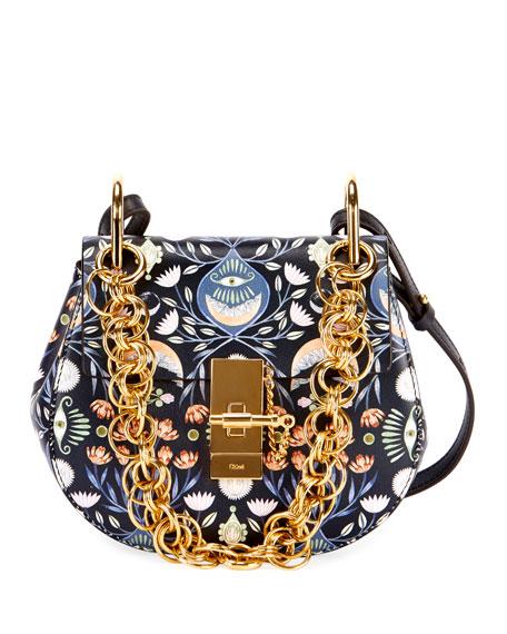 Drew Bijou Mini Artistic Shoulder Bag