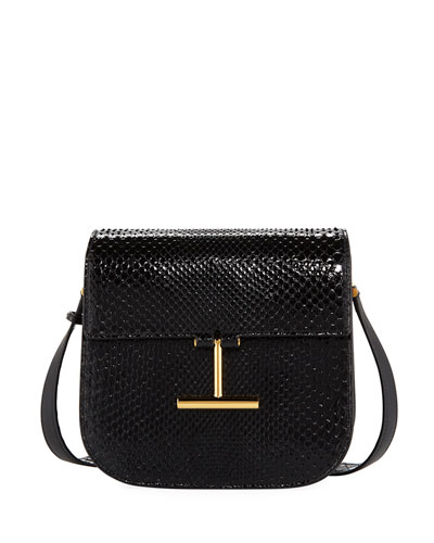 Tara Python Shoulder Bag