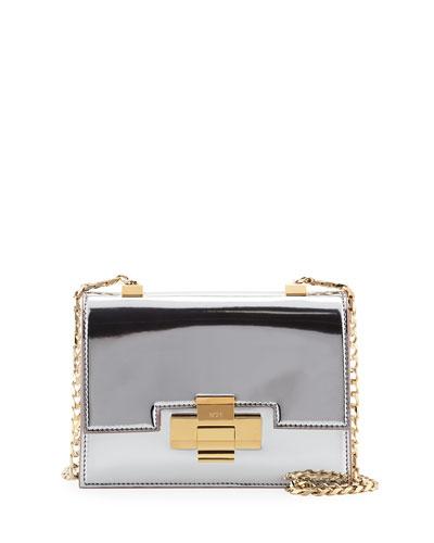 Alice Metallic Mini Crossbody Bag