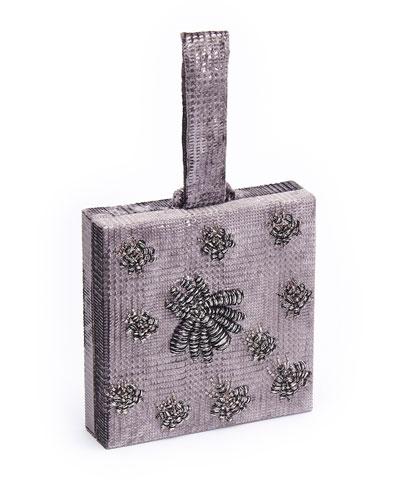 Ragno Velvet Box Clutch Bag