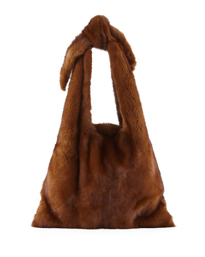 b127d95fd671 Furrissima Mink Fur Sac Tote Bag Quick Look. Simonetta Ravizza