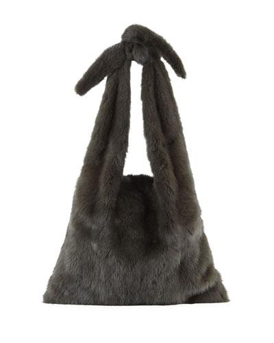 Furrissima Mink Fur Sac Tote Bag