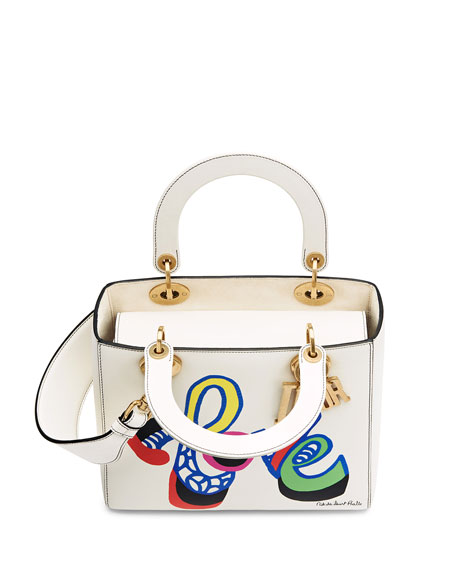 0a768b4e0076 Dior Lady Dior Bag with Textured Niki de Saint Phalle Print