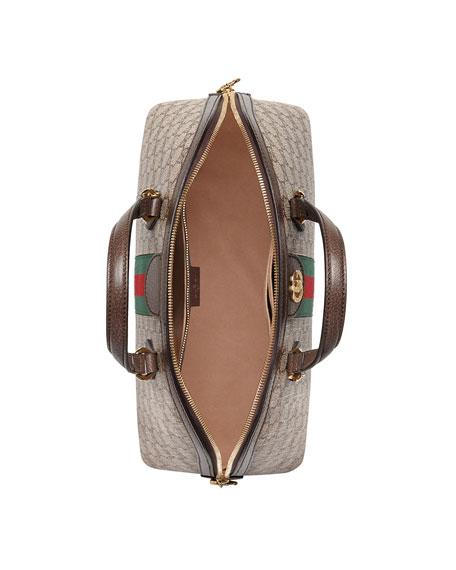 dd59b11489cf Gucci Ophidia Medium Web GG Supreme Top-Handle Bag