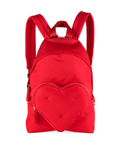 Chubby Heart Nylon Backpack