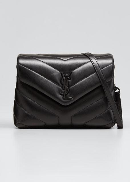 Loulou Toy Monogram YSL  Quilted Shoulder Bag