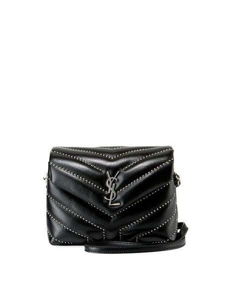 faedba53568a Saint Laurent Lou Lou Toy Strap Quilted Wallet Shoulder Bag