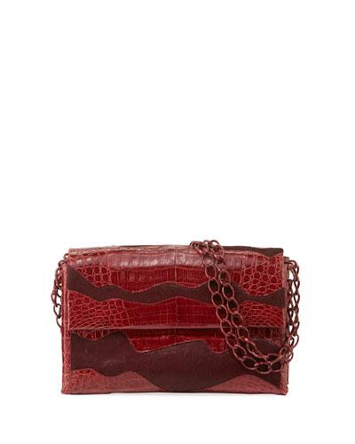 Madison Double-Chain Medium Shoulder Bag