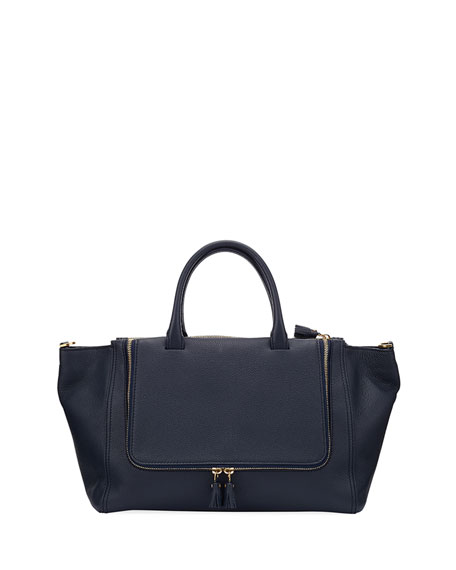 Anya Hindmarch Vere Soft Mini Grain Tote Bag
