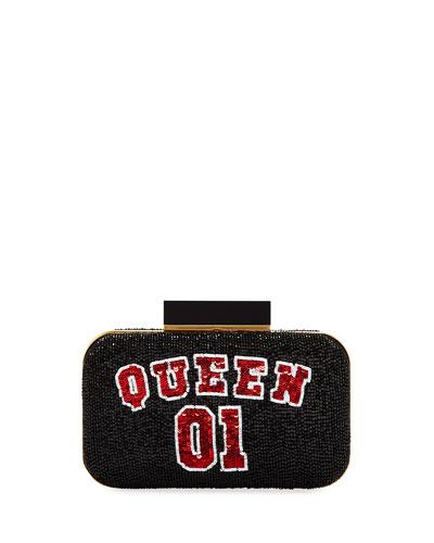 Shirley Queen 01 Beaded Clutch Bag