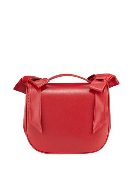 Simone Rocha Leather Bow Crossbody Bag ac8561347ed08