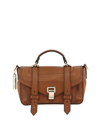 PS1+ Tiny Leather Satchel Bag