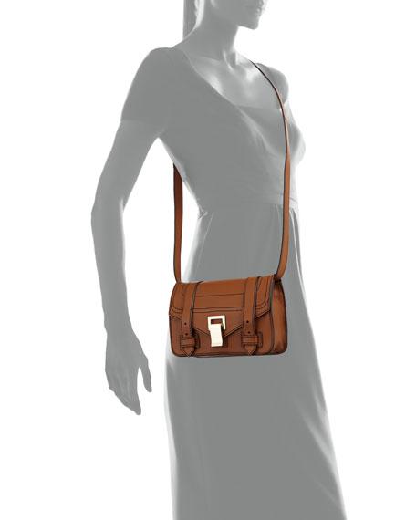 PS1+ Mini Soft Grainy Leather Crossbody Bag