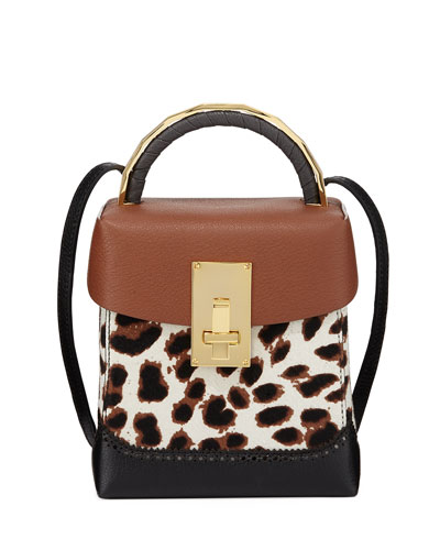 Leopard Great Large Box Bag