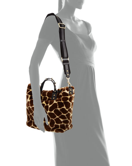 Giraffe Fur Beatrice Tote Bag