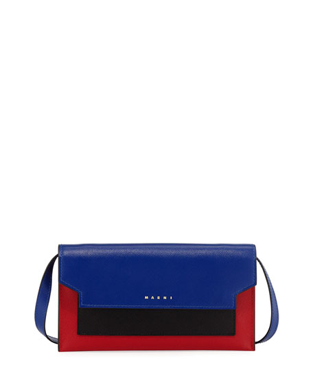 Marni Colorblock Leather Wallet