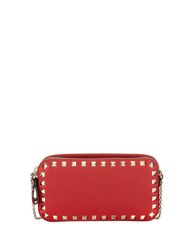 Rockstud Pouch On Chain Wallet