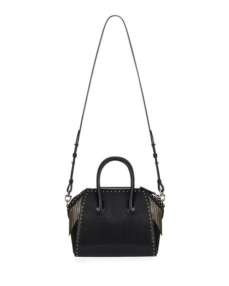 Antigona Chain Fringe Mini Satchel Bag