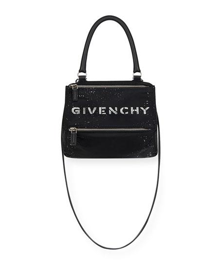 Givenchy Pandora Small Crossbody Bag in Speckled Nylon