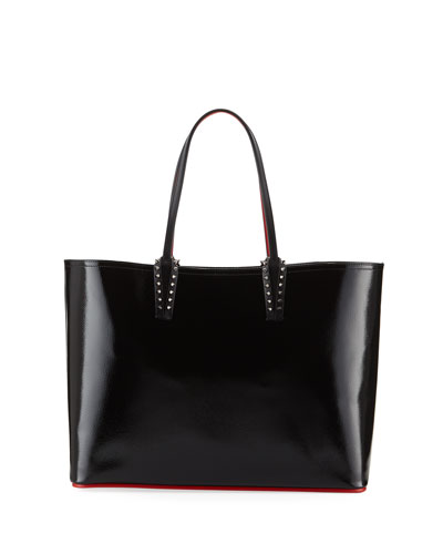 Cabata Patent Empire Calf Paris Tote Bag
