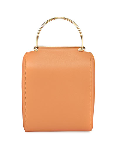 Besa Leather Top Handle Bag