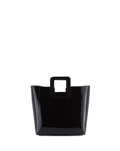 Shirley Mini Patent Vinyl Tote Bag