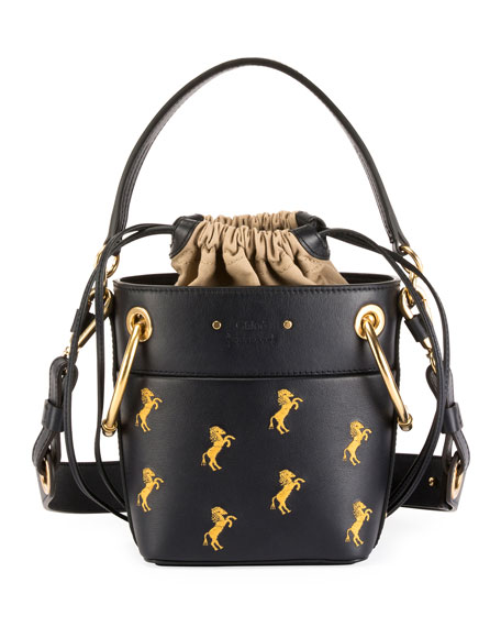 a060a786 Roy Mini Horses Bucket Bag