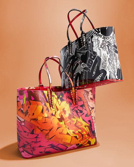 Cabata Calf Paris Metro Graf Tote Bag