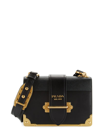 37663a7296a4 Prada Cahier Notebook Shoulder Bag