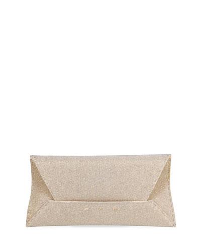 Manila Stretch Fabric Clutch Bag