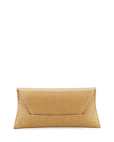 Manila Stretch T Glitter Clutch Bag