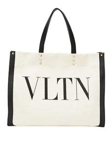 Vltn Grande Plage Small Tote Bag by Valentino Garavani