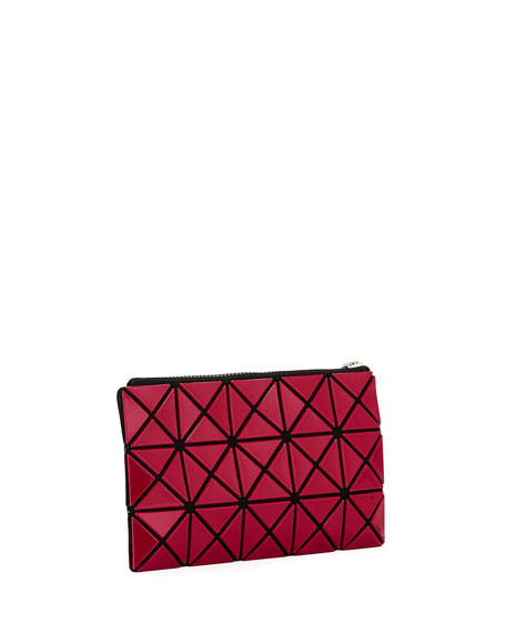 Prism Flat Zip Pouch Bag