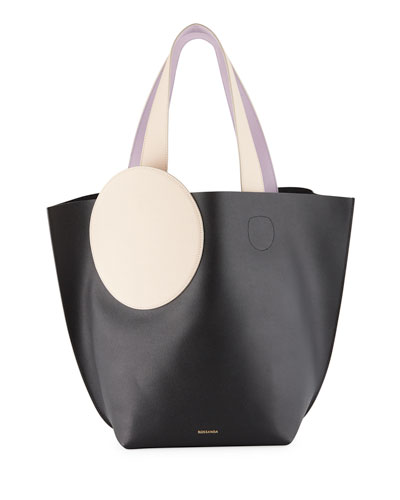 Eider Colorblock Leather Tote Bag