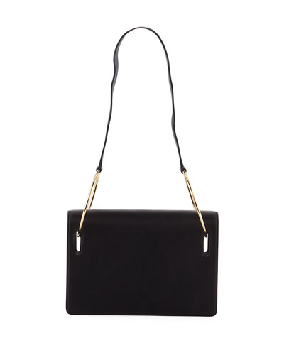 Dora Leather Shoulder Bag