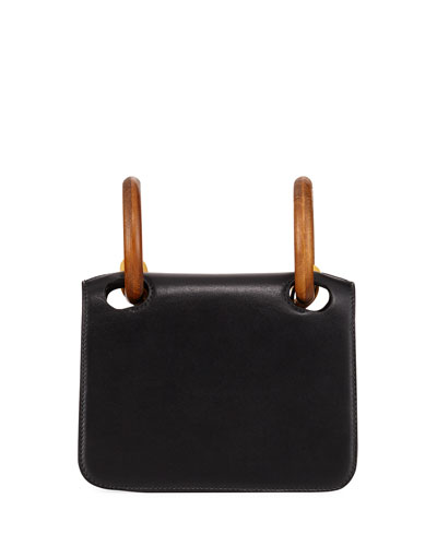 Neneh Mini Leather Crossbody Bag