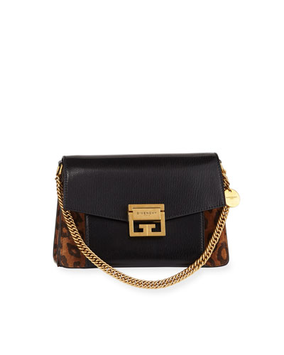 GV3 Small Leopard Shoulder Bag