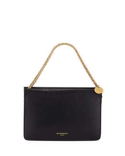 Cross 3 Leather & Leopard Suede Crossbody Bag