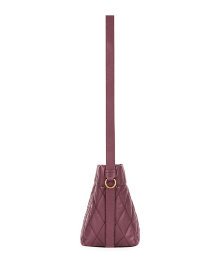 df573977c25a Givenchy GV Quilted Mini Bucket Bag