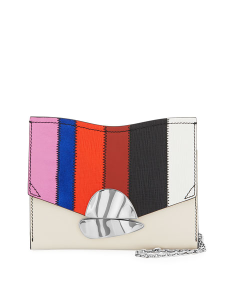 Curl Colorful Patchwork Clutch Bag