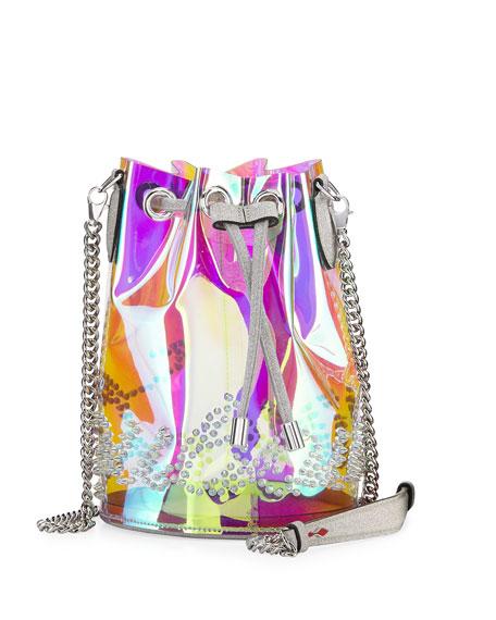 Christian Louboutin Marie Jane Mini GlitterSunset PVC Bucket
