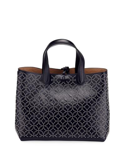 Studded Small Tote Bag