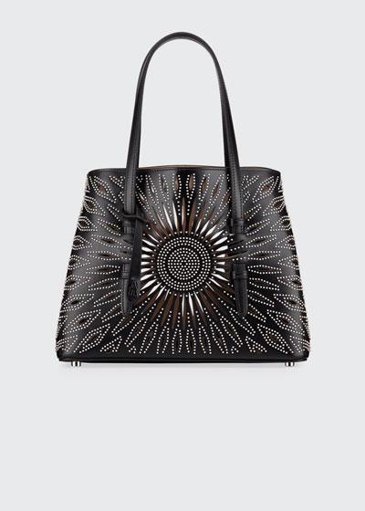 Mina Small Studded Tote Bag