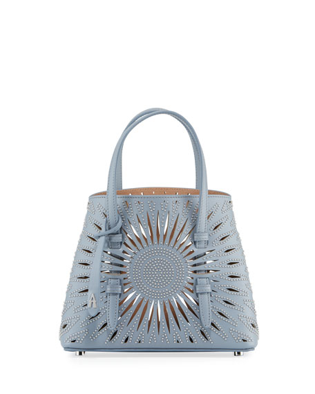 Mina Min Cuir Lux Tote Bag