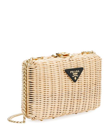 66079d7ff880 Prada Basket Clutch