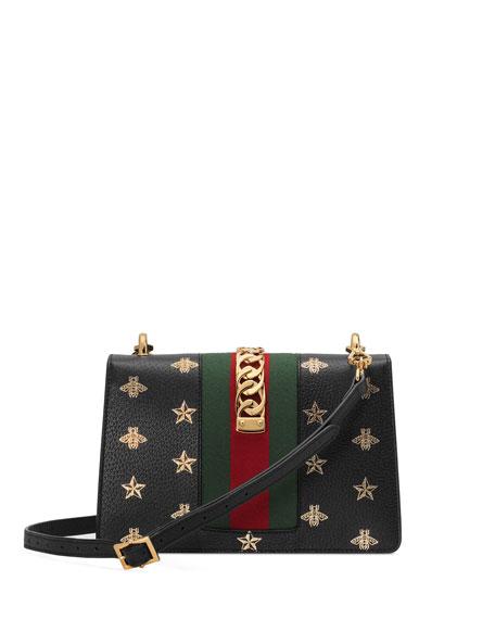 Sylvie Small Bee & Star Shoulder Bag
